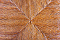 Woven natural material detailed texture of background of Royalty Free Stock Images