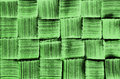 Woven pattern green brush texture  Royalty Free Stock Images