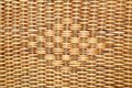 Woven rattan with natural patterns for basket in T Stock Images