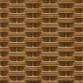 Woven rattan with natural patterns the d render Royalty Free Stock Photo
