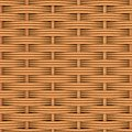 Woven rattan with natural patterns the d render Royalty Free Stock Image