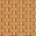 Woven rattan with natural patterns the d render Stock Photography