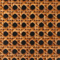 Woven rattan pattern Royalty Free Stock Photos