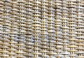Woven rattan a pattern formed from to be used as a background Stock Images