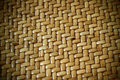 Woven Thatch Background Pattern Royalty Free Stock Photo