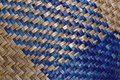 Woven wicker surface Stock Photo