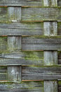 Woven Wood texture Royalty Free Stock Photo