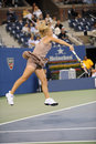 Wozniacki Caroline at US Open 2009 (3) Royalty Free Stock Image