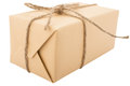 Wrapped gift box Royalty Free Stock Photo