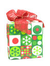 Wrapped present Royalty Free Stock Photos