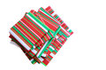 Wrapped presents books for holiday christmas season Royalty Free Stock Image