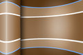 Wrapped rainbow paper background with shine in brown color Stock Photography