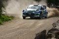 WRC 2012 Rally D'Italia Sardegna - SOLBERG Royalty Free Stock Photo