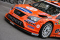 Wrc ford focus Royalty Free Stock Photos
