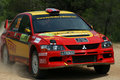 WRC Rally Acropolis Royalty Free Stock Image