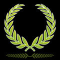 Wreath (vector) Royalty Free Stock Photo