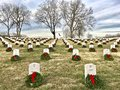 Wreaths of Honor Royalty Free Stock Photo