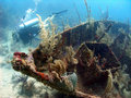 Photo : Wreck of a ship vik wreck dive