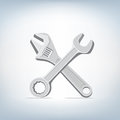 Wrench and spanner icon