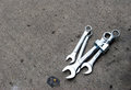 Wrenches Royalty Free Stock Photo