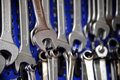 Wrenches set Royalty Free Stock Photo