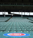 Wrigley field the chicago cubs Royalty Free Stock Photos