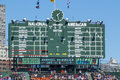 Wrigley Field Scoreboard Royalty Free Stock Photo