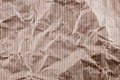 Wrinkled craft paper texture Royalty Free Stock Photography