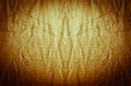 Wrinkled fabric golden background texture abstract wallpaper Stock Images