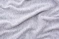 Wrinkled grey fabric Royalty Free Stock Photo