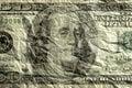 Wrinkled money Royalty Free Stock Photos