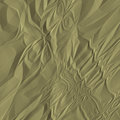 Wrinkled paper white sheet isoate Royalty Free Stock Photography
