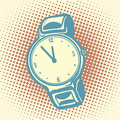 Wrist watch retro Royalty Free Stock Photo