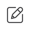 Write line simple icon