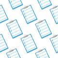Writer notes icon seamless pattern. Notes illustration