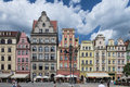 Wroclaw market place image was taken on june in Stock Photos