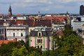 Wroclaw - panorama Stock Photography