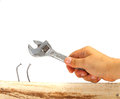 Wrong Tool DIY Royalty Free Stock Photo