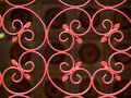 Wrought Iron Gate Royalty Free Stock Photo