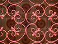 Wrought Iron Gate Royalty Free Stock Image