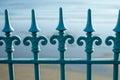 Wrought Iron railings Royalty Free Stock Photo