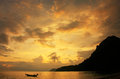 Wua Talab island at sunrise, Ang Thong National Marine Park, Tha Stock Photos