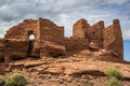 Wukoki pueblo ruin in wupatki national monument near flagstaff arizona Stock Photos