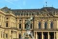 Wurzburg Residence detail. Royalty Free Stock Photo