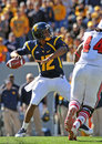 WVU quarterback Geno Smith Stock Photography