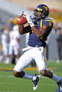 WVU receiver Ivan McCartney Stock Photography