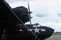 Ww bomber on display memorial day american world war black consolidated pby catalina super cat aircraft at air museum tamiami Stock Photo