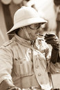 WW2 Desert Rat Soldier Royalty Free Stock Photo
