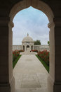 WW1 Indian Army Memorial at Neuve-Chapelle, France Royalty Free Stock Photo