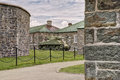 Wwii m sherman tank at la citadelle in quebec city quebec canada Stock Image